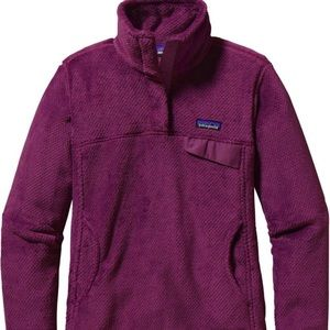 Violet Red Patagonia Snap-T Pullover